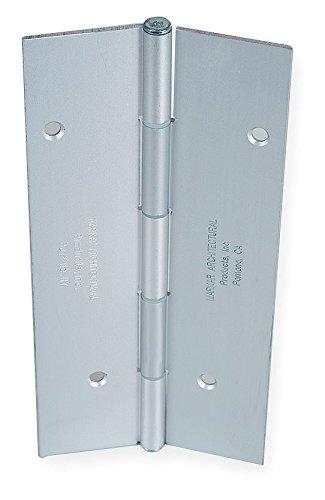 Markar - FM100-001-628 - 180 Continuous Hinge With Holes, Satin Aluminum Finish, 84 x 2-1/4 by MARKAR