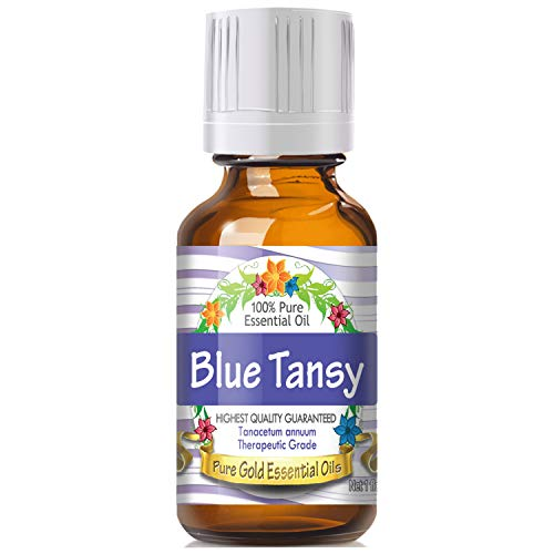 Blue Tansy Essential Oil (100% Pure, Natural, UNDILUTED) 30ml - Best Therapeutic Grade - Perfect for Your Aromatherapy Diffuser, Relaxation, More! ()