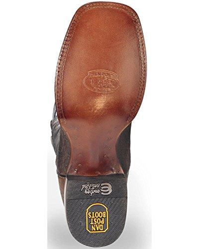 Square Dp3974 Boot Leather Black Toe Cowboy Distressed Dan Men's Badlands Post xw1znqCZ0U