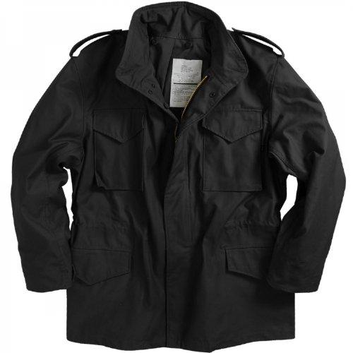 ALPHA INDUSTRIES M-65 NYCO フィールドジャケット B01JUU54FG S|ブラック ブラック S