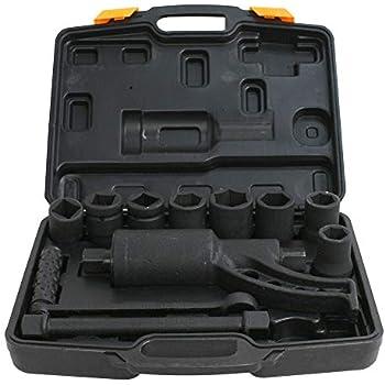 Yontree Torque Multiplier Set Wrench Lug Nut Lugnuts Remover Labor Saving Heavy Duty
