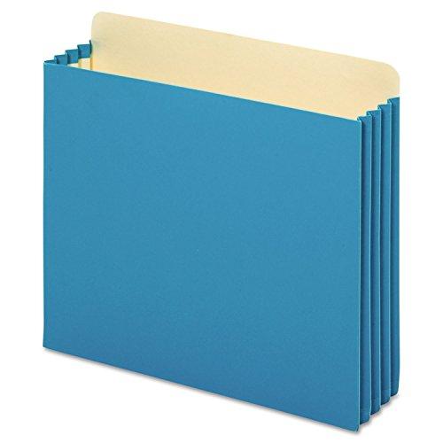 (Letter Size Cabinet Pocket File (Set of 10) [Set of 10] Color: Blue)