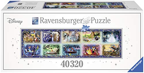 Ravensburger Memorable Disney Moments 40,320 Piece Jigsaw Puzzle - The Largest Disney Puzzle in the World (Ravensburger Puzzle Disney)