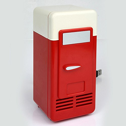 Portable Mini Fridge USB-Powered Beverage Drink Cooler & Warmer Refrigerator Laptop PC Office Car Refrigerator