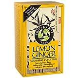 Triple Leaf Tea Ginger Tea-Bags, Lemon, 20 Count
