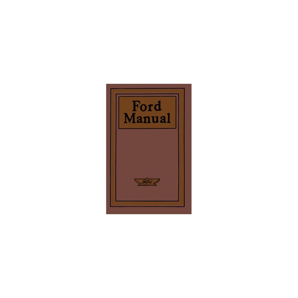 1909 1913 1914 1915 FORD Car Owners Manual User Guide