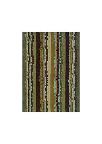 Trio Collection Rectangular Rug w Latex & Cotton Backing (7 ft. L x 5 ft. W) - Trio Collection Rectangular Rug