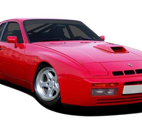Duraflex Replacement for 1977-1988 Porsche 924 Turbo 944 Look Front Fenders - 2 Piece