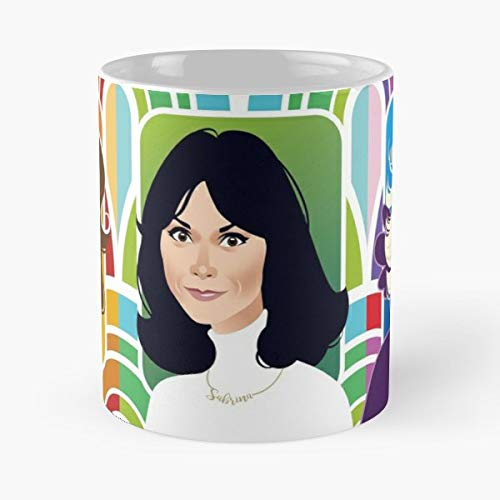 Farrah Fawcett Kate Jaclyn - Best Gift Mugs Smith Jill Munro Sabrina Kelly Charlies Angels Classic Tv Icon Seventies Glamour Alejandro Mogollo Alemogolloart Best Personalized Gifts (Farrah Fawcett Best Friend)