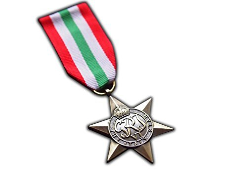 The Italy Star Military Medal WW2 Commonwealth British Military Award For | Army | Navy | RAF | REPLICA George VI