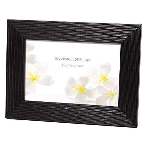 The Original LINIA Black Solid Wood 5x7 frame by Swing Design - - Solid Steven Wood