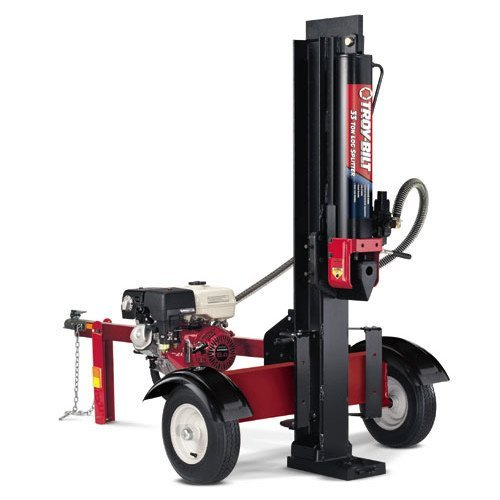 troy bilt log splitter reviews
