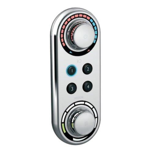 Iodigital Shower Faucet (Moen TS3415 IO/Digital Shower Digital Control, Chrome)