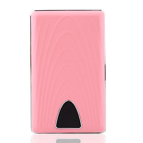 YOUNGFLY Portable Charger For Straight Movement Power Bank W/ LCD Display Pink