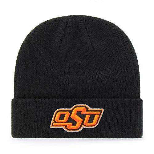 OTS NCAA Oklahoma State Cowboys Raised Cuff Knit Cap, Black, One ()