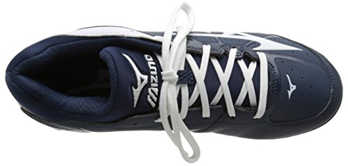 Mizuno Dames 9 Toer Adv Finch Elite 2 Sneldicht Gevormde Softbal Cleat Marine / Wit