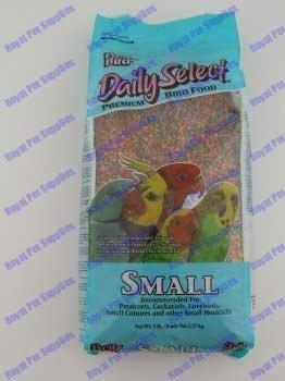 Pretty Bird International BPB78116 5-Pound Daily Select Premium Bird Food, Small by TopDawg Pet Supply