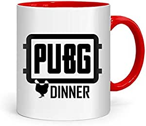 FMstyles PUBG عشاء الدجاج الأحمر القدح داخلي FMS318