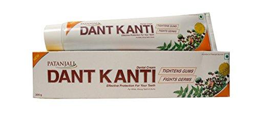 Patanjali Dant Kanti Toothpaste(Pack of 5) (5 x 200 Gram)