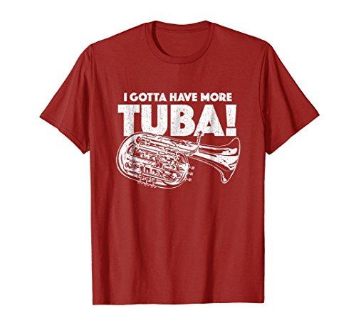 Playing Tuba - Tubaist Love Playing Tuba Funny Tuba Player Shirt