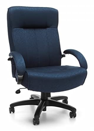 Amazon Com Ofm Big And Tall Fabric Executive Chair High
