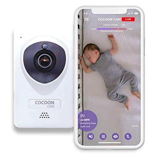 Cocoon Cam Plus Baby Breathing and Video Monitor 2018 Version - Discontinued by Manufacturer