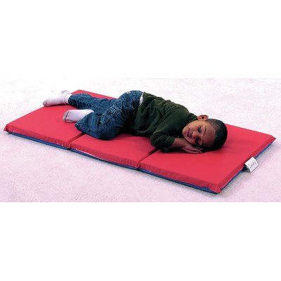 - Rest Mat (3 Section 24 x 48 x 1 - Red and Blue in 10 Pack)