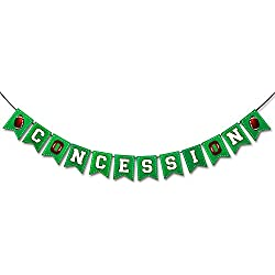 Football Concession Banner Sports Party Decoration Concession Stand Banner for Super Bowl 2018 NFL Season