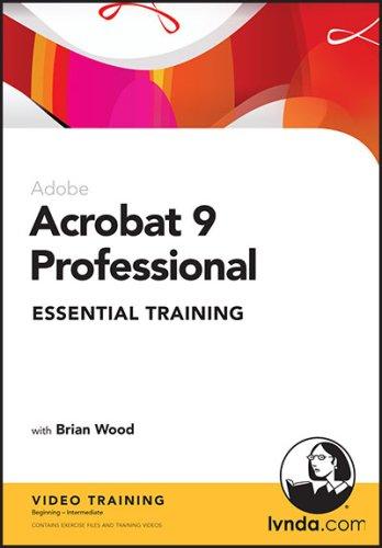 Acrobat 9 Pro Essential Training