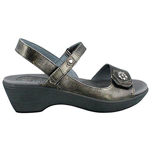 Naot Women's Reserve Dress Sandal, Metal, 40 EU/9 M US ()
