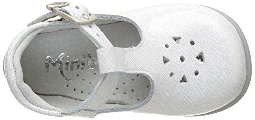 Minibel Malika - Primeros Pasos de Otra Piel Bebé-Niños Blanc (Imp Geom Blanc)