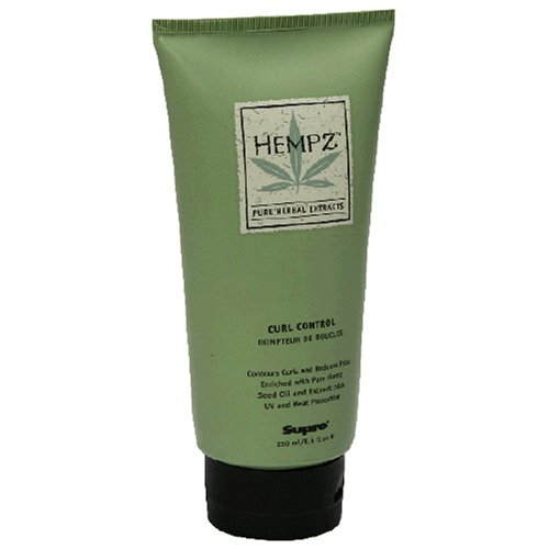 Hempz Pure Herbal Extracts Curl Control, 8.5 fl oz (250 ml) by Hempz