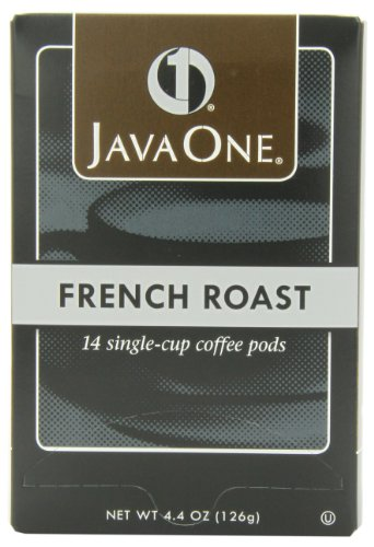 (Java One French Roast Coffee, 14-Count Pods (Pack of 6))