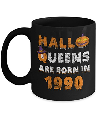 27th Birthday Gifts Halloqueens are born in 1990