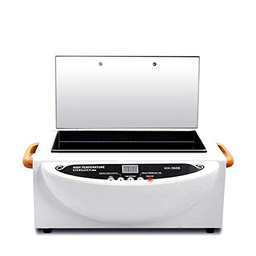 Nurth Portable Autoclave Sterilizer LED Display Nail pedicure tool scissors Towel Disinfection Cabinet Warmer Cabinet Spa Hair Beauty Salon Equipment Scissor Drying With timing function from Nurth