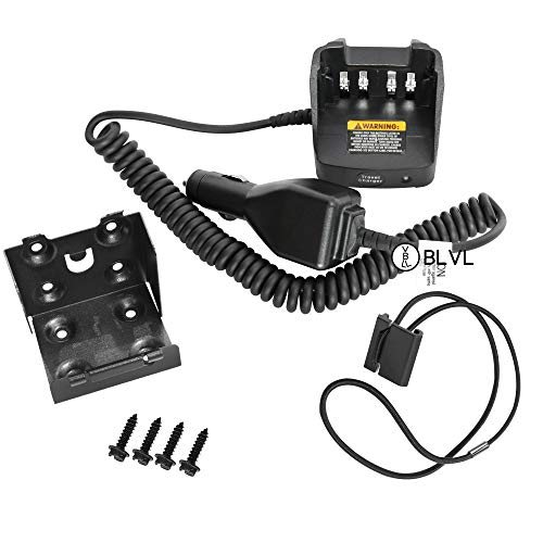 6000 Car - BLVL- RLN6434 Travel Car Charger Compatible with Motorola APX Radios APX6000 APX7000 APX8000 Radio