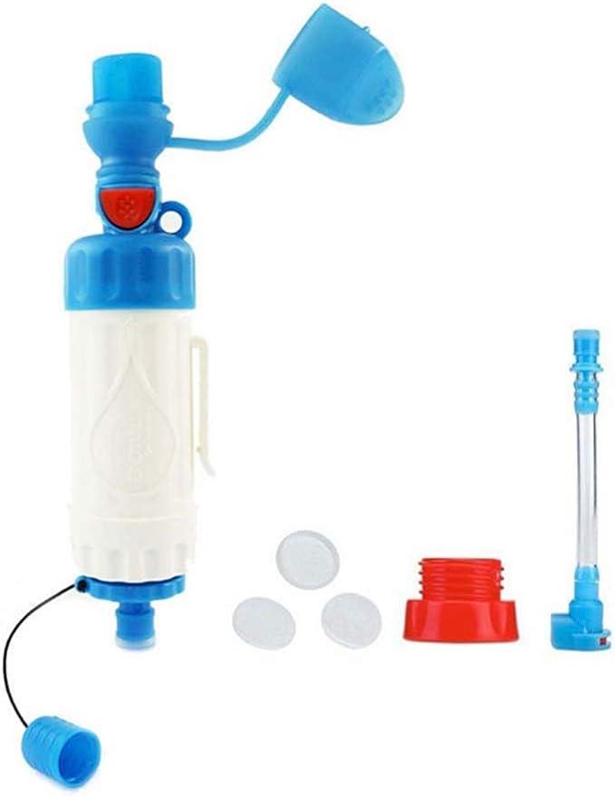 MCLJR El purificador de Agua Personal al Aire Libre de Paja ...