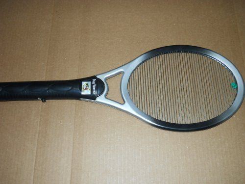 WARRIOR SUPREME,MOSQUITO BUG ZAPPER,HIGHEST POWER OF ANY RACKET 4000V MADE,FAST
