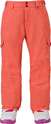 Girls Elite Glove (Burton Youth Girls Elite Cargo Pants, Georgia Peach, Medium)
