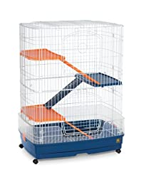 Prevue Pet Products SPV480 4-Story Ferret Cage, 31 by 21-Inch