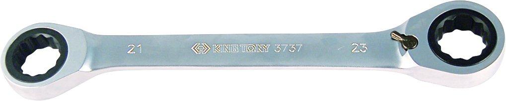King Tony 37371011 M Ratschen Ringschluessel metrisch, 10 x 11 mm 37371011M
