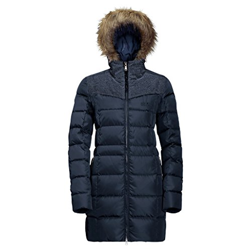 de Blue le Ladies Midnight Baffin Jack Manteau Wolfskin wqz6H8WxFU