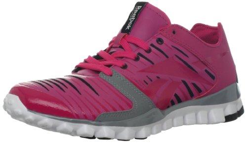 Reebok Women's Realflex Fusion TR 2.0 Cross-Training Shoe,Cosmic Berry/Black/Tin Grey/White,6.5 M US For Sale
