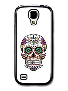 Cool Mexican Sugar Skull Hipster case for Samsung Galaxy S4 mini