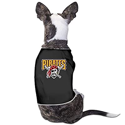 Lea Ophelie Pittsburgh Pirates Team Essential Fitted Dog Clothes