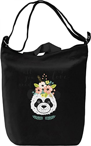 All you need is love Borsa Giornaliera Canvas Canvas Day Bag| 100% Premium Cotton Canvas| DTG Printing|