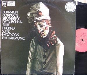 Bernstein Conducts Stravinsky: Petrushka (Complete) / Firebird (Suite)