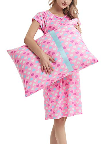 3 In 1 Nursing Pillows - GINKANA Maternity Labor Delivery Gown Hospital