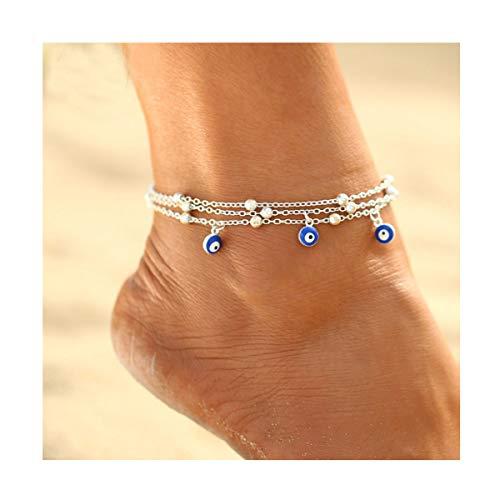 CanB Beach Anklet Blue Mini...