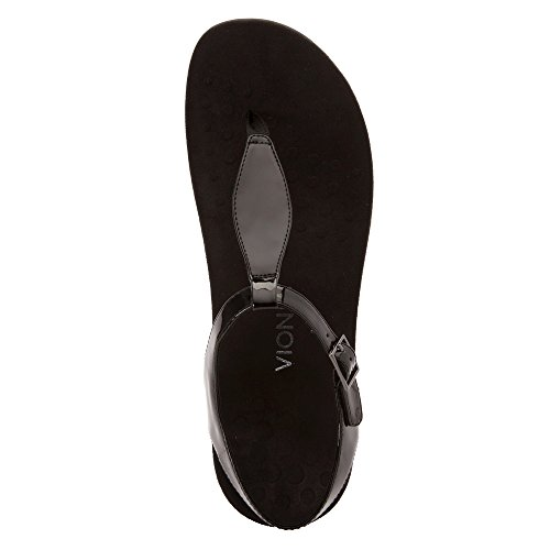 outlet pay with visa Vionic Womens Paden Black Patent brand new unisex cheap online v66cAMpx